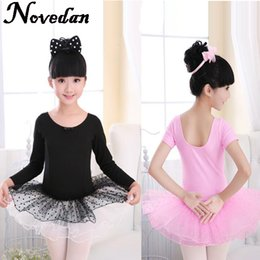 Robes De Ballet De Danse Enfantine Pas Cher-Infant Toddler Kids Kids Ballet Tutu Robe Costume de danse Pink Fairy Girls Ballet Dress For Children Dancewear