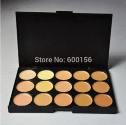Concealer Price Canada - Professional 15 Color Face Concealer Camouflage Makeup Neutral Palette Set With Cheap Cost Price 2# Free Shipping