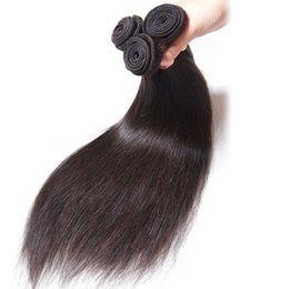 Peruvian Hair 28inches NZ - 8-28inches straight hair 65g pcs 5pcs lot 7A Peruvian Hair brazilian hair indian hair Malaysian Virgin Hair , Mongolian Human