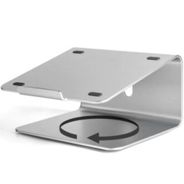 Apple Ipad2 Tablet UK - UP SILVER color aluminum rotable laptop and tablet stands AP-2