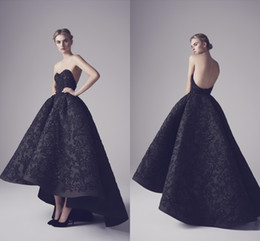 $enCountryForm.capitalKeyWord Australia - Ashi Studio Black Evening Dresses Sexy Strapless Backless Appliques Sequins Prom Gowns Elegant Black Swan Foraml Evening Party Gowns