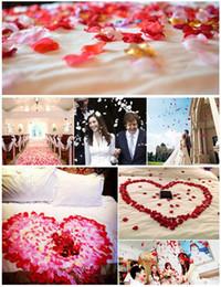 $enCountryForm.capitalKeyWord Canada - Rose Flower Petals Simulation Wedding Party Table Supplies Confetti Decorations Wedding Table Multi-Colors Decorations Event Party Supplies