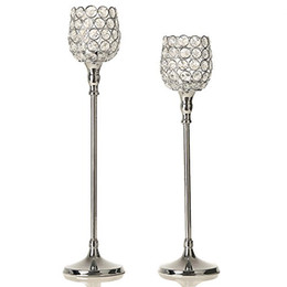 $enCountryForm.capitalKeyWord Canada - Crystal Candlesticks Wedding Decoration Table Centerpieces Sparklers Wine Glasses Tealight Candle Holders Home Decoration Housewarming Gifts