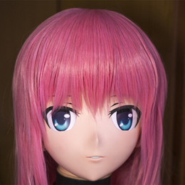 $enCountryForm.capitalKeyWord Canada - high quality handmade female letax full face KIG anime mask cosplay kigurumi crossdresser fetish role can be customize