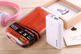 Cavo di alimentazione mobile 7800mAh carica tesoro qualità 18650 batterie importate