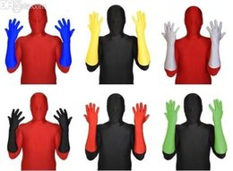 $enCountryForm.capitalKeyWord NZ - Free Shipping Adult NEW Lycra Spandex Zentai costumes Party Elbow Gloves accessory