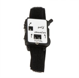 China Golf Club Stroke Score Keeper Count Watch Putt Shot Golf Counter with Wristband Band suppliers