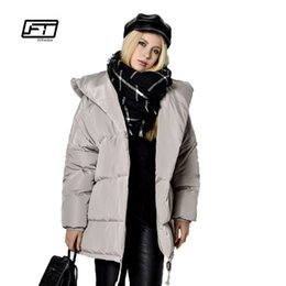 71539bcdba0af Plus Size Maternity Coats UK - x201711 new 2017 winter women parkas  irregular loose fit bread