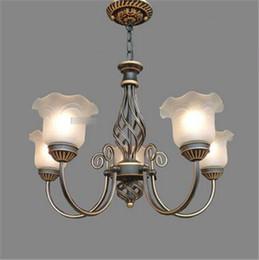 $enCountryForm.capitalKeyWord NZ - LRE003-Wholesale Art Decor Iron Glass European Chandelier Artistic Glass Ceiling Pendant Lamps American Livingroom Decor Lamp
