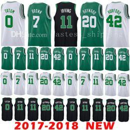 b945c421b 2018 New 11 Kyrie Irving 0 Jayson Tatum Jersey Men s 2017-18 7 Jaylen Brown  42 Al Horford 20 Gordon Hayward Jerseys ...