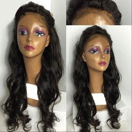 brazilian lace wigs black women Australia - Best Wet And Wavy Full Lace Human Hair Wigs For Black Women Virgin Brazilian Full Lace Wigs With Baby Hair Lace Front Wig