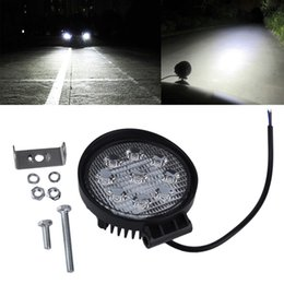 TracTor beam online shopping - 27W LED Work Light V V IP67 Spotlight Fog Light Off Road ATV Tractor Train Bus Boat Floodlight x4 ATV UTV Work Light