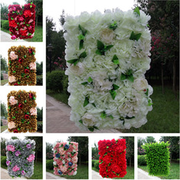 Wedding stage decoration designs online shopping wedding stage european design wedding decoration flower wall party stage backdrop decorative peony and hydrangea flower row multi colors junglespirit Choice Image