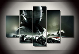 $enCountryForm.capitalKeyWord Canada - 5Pcs With Framed Printed f1 Racing car picture Painting wall art room decor print poster picture canvas ready to hang canvas