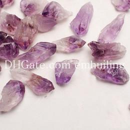 $enCountryForm.capitalKeyWord NZ - Original Amethyst Crystal Mineral Rock Freeform Rough Point Amatista Stone Raw Amethystine Gemstones Small Undrilled Loose Amethyst Beads