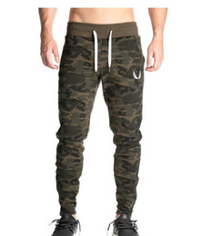 $enCountryForm.capitalKeyWord UK - Gym Leisure Jogger Pants Chinos Camouflage Skinny Joggers Men New Fashion Harem Pants Sweat Pants Men Trousers