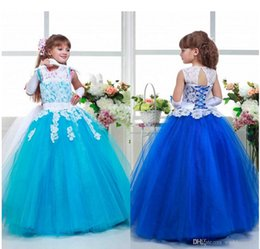 $enCountryForm.capitalKeyWord Canada - 2016 Arabic Lace Colorful Tulle Ball Gown Flower Girl Dresses Vintage Child Pageant Dresses Beautiful Flower Girl Wedding Dresses