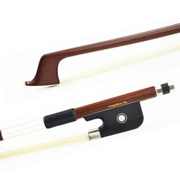 Cello bows online shopping - Size C Brazilwood Cello Bow Good Quality Ebony Frog White Horsehair Straight Violin Parts Accessories