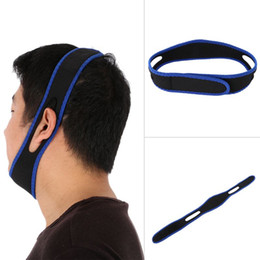 Cheap Price Anti Snore Stop Snoring Chin Strap Snore Stopper Belt Anti-Ronquidos Nose Snoring Solution Breathing Snore Stopper For Sleeping on Sale
