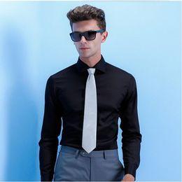 $enCountryForm.capitalKeyWord Canada - Custom made men shirt classic solid color groom wedding shirt dress comfortable business formal occasion shirt long sleeve shirt