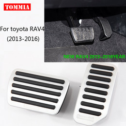 Toyota Housing NZ - For Toyota RAV4 2013-2016 Pedal Cover Fuel Gas Brake Foot Rest Housing No Drilling Car-styling Free Shipping