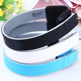 Fashionable Wireless Headphones Canada - AEC BQ618 Fashionable design Noise Cancelling Smart Headband Bluetooth 4.0 Headset Wireless Headphone Earphone with microphone