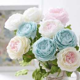 Discount top quality silk flowers top quality silk flowers 2018 on high quality artificial peony flowers top grade silk flower wedding flowers bride bouquets holding flower decoration inexpensive top quality silk flowers mightylinksfo