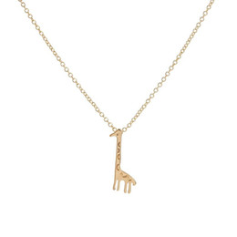 Cute long Chain neCklaCe online shopping - Cute Animal Accessories Lovely Giraffe Pendant Necklaces Long Chain Necklace for Women Kids Vintage Jewelry Lovers Necklace