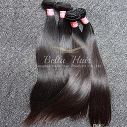 $enCountryForm.capitalKeyWord Canada - 3pcs lot Best 9A Unprocessed Peruvian Hair Wefts 100% Natural Color Silky Straight Human Hair Extension Free Shipping