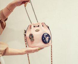 Korea style handbags online shopping - Korea hot sell Bucket small bag Korean handbag shoulder crossbody bag