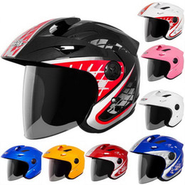 $enCountryForm.capitalKeyWord Canada - 2016 Summer half face Motorcycle helmet electric bicycle helmets UV sunscreen anti-fog made of ABS for FREE SIZE H618