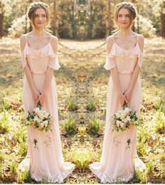 Discount Long Bohemian Prom Dresses   2017 Bohemian Style Long ...