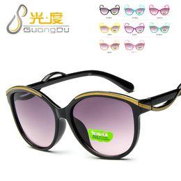 d5ccf393d6da Korean Girls Sunglasses Canada - Wholesale-Korean fashion children s  sunglasses 1341 multicolor UV-proof