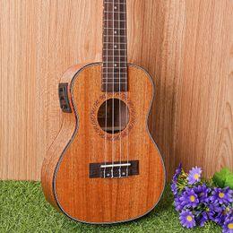 "Mahogany Musical Instruments Canada - 23-1 23"" Ukulele Mahogany Acoustic guitar 4-strings guitarra musical instruments Wholesale electric guitar"