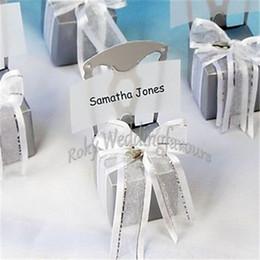 SPEDIZIONE GRATUITA Scatola di favore della carrozzina della miniatura di 36PCS con il cuore che incanta il nastro del organza n carta di carta che Wedding favorisce gli eventi Regali in Offerta