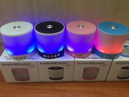 Light seaLs online shopping - T Big Size Wireless Bluetooth Speakers Portable Stereo with Dazzle Night LED Light Subwoofer Loud Speaker TF USB FM Radio MP3 Player
