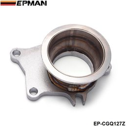 "$enCountryForm.capitalKeyWord Australia - EPMAN T04E T3 T4 T3 .63A R 5 bolt to 3"" vband Stainless Steel Turbo Manifold Flange Adapter EP-CGQ127Z"