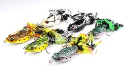 "$enCountryForm.capitalKeyWord UK - 6Pcs Proberos Brand Frog Lure High Quality Fishing Bait 6Colors Fishing Lures 7Cm -2.76"" 0.46Oz -12.95G Fishing Tackle Fish Baiting"