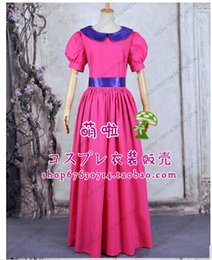 Barato Super Mario Bros Cosplay Costume-Vestido de festa de princesa da princesa Bubble Princess Super Mario Bros