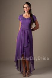 Chiffon Eggplant Bridesmaid Dresses Online | Chiffon Eggplant ...
