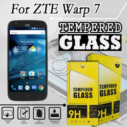 Discount x3 accessories - Tempered Glass Screen Protector For ZTE Warp 7 grand x3 Mobile Phone Accessories with packing 10 in 1