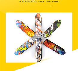 Finger Skateboard Mini Canada - Mini Finger Skateboard Fingerboard For Tech Deck Alloy Stents Scrub Finger Scooter Skate Boarding Classic Game Boys Toys