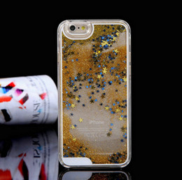 $enCountryForm.capitalKeyWord Canada - Cheap Custom Quicksand PC Case for iPhone 5 6 Liquid Sand Cell Phone Cover Case for Samsung Mobile Phone Case