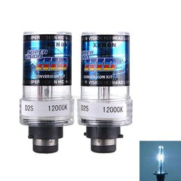 China Durable 2Pcs 35W D2S D2C Car for HID Xenon Replacement Auto Light Source Headlight Lamp Bulb 4300K 6000K 8000K 12000K Free Ship order<$18no cheap d2s headlight bulb suppliers