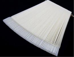 $enCountryForm.capitalKeyWord Canada - Foldable Fan Shaped Nail Polish Display Board with Mounting Screw (Ivory,50 Pieces) Nail Art Equipment