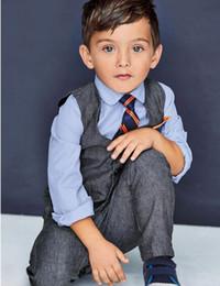 $enCountryForm.capitalKeyWord Canada - Four Pieces Luxurious Black Ring Bearer Suits Boys Tuxedo Children dress tuxedo kids formal dress boys suits (jacket+vest+Pants+Shirt+Tie)