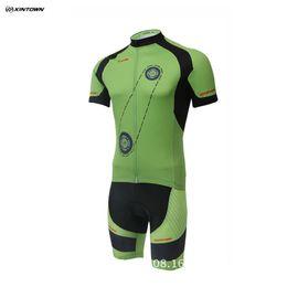 Cheap Racing Cycles Canada - Cheap Price Cut 50% Off XINTOWN Cycling Mens Ropa Ciclismo Breathable Short Sleeves Shirts MTB Bike Team Racing Cycle Bib Shorts Sets