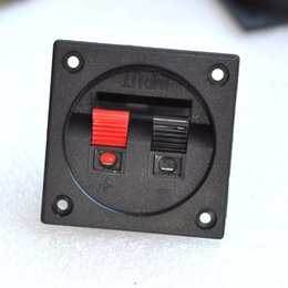 $enCountryForm.capitalKeyWord NZ - Free Shipping Square speaker wiring clip audio terminal block speaker plastic junction box small speaker