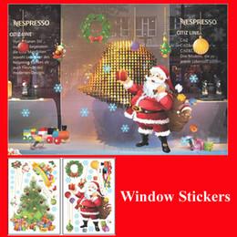 $enCountryForm.capitalKeyWord Canada - Merry Christmas Window Stickers Home Decor Christmas Tree Garland Father Christmas Outdoor Xms Decorations Showcase Decoration Wall Sticker