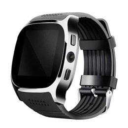 Chinese  2017 T8 Sport Bluetooth Smart Watch Wearable Devices With Camera Sync Call Support SIM&TF Men Women Wristwatch For Android Phone manufacturers
